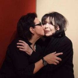 Monique Giroux et Juliette Gréco, archives personnelles de Monique Giroux.