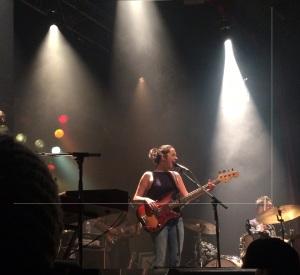Marie-Pierre Arthur - 16 février 2015, Cabaret La Tulipe - Spectacle de lancement de Si l'aurore. Crédit: Alexandra Bourbeau
