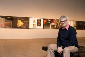 Benoit Aquin, 2013.    Crédit : Sébastien Roy Source : Musée des beaux arts de Montréal