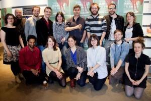 Les auteurs qui participent à l'édition 2015 du festival. Source : Emmanuelle Lussiez Crédit photo : David Ospina